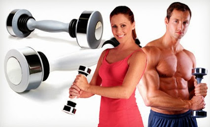dumbbell shake weight is powerful trainer for the muscles